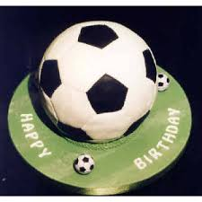 football cake birthday gift for him football cake in bangalore thedottedi