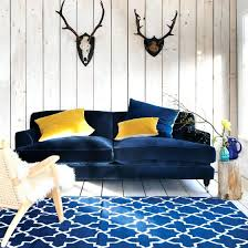 navy blue velvet sofa bed u2013 andyozier com