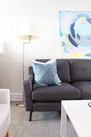 our new living room sofa from burrow u2014 mix u0026 match design company