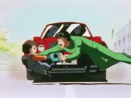 image yusuke in car accident png yuyu hakusho wiki fandom