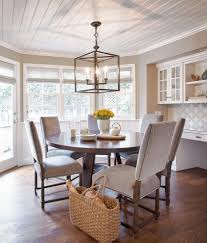 chicago visual comfort chandelier kitchen beach style with built