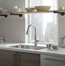 delta touch2o kitchen faucet delta stainless steel kitchen faucets ebay