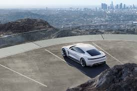 concept porsche porsche takes aim at tesla with a stunning electric concept wired