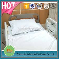 wholesale 100 cotton plain white hospital bed draw sheet bed