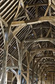 the history blog blog archive cathedral like medieval barn harmondsworth barn interior detail