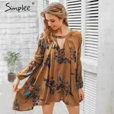 aliexpress buy size 7 10 vintage retro cool men aliexpress buy simplee vintage pleated boho women dress