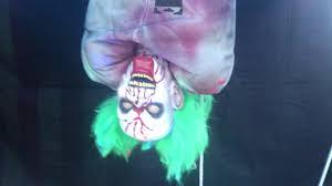 animated bloody bag of jokes clown halloween prop youtube