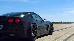 corvette c6 top speed genovation gxe c6 corvette z06 breaks standing mile and top