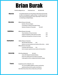 What Is The Best Template For A Resume Best 25 Artist Resume Ideas On Pinterest Resume Photo Resume