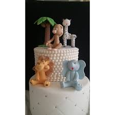 animals cake decorations wild jungle animals safari baby shower