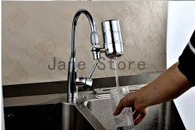 faucet water filter home kitchen not straight drinking running
