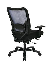 Ergonomic Office Chairs With Lumbar Support Amazon Com Space Seating Big And Tall Airgrid Back And Padded