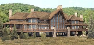 large cabin plans tremendous 1 log house design plans pendleton estate homepeek