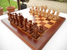 Wooden Chess Set by 42 Best Diy Chess Ideas Images On Pinterest Chess Boards Chess