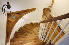 Oak Banisters And Handrails Design Ideas For Stairs To Match Your Custom Hardwood Floors