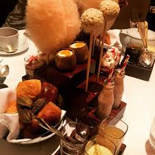 one aldwych afternoon tea charlie and the chocolate factory style