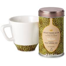 tea cup set mint green tea and tea cup set tea hallmark