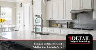 is it a mistake to paint kitchen cabinets cabinet refacing diy cabinet painting mistakes to avoid