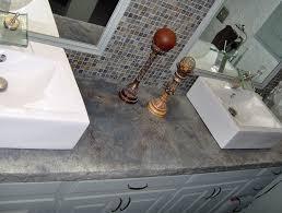 concrete tile backsplash kitchen diy concrete countertop resurfacing design ideas for