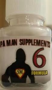 supa man supplements sexual male enhancement pills 6ct