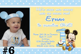 baby mickey birthay invitation u2013 orderecigsjuice info