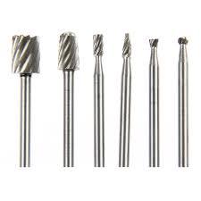 aliexpress com buy 6pcs dremel rotary tool mini drill bit set