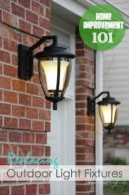 replacing outdoor light fixture home improvement replacing outdoor light fixtures don t be scared