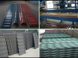 Metal Roof Tiles Colorful Coated Roofing Tiles From A Manufacturer