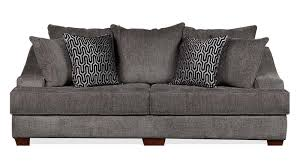 Charcoal Living Room Furniture Kyle Charcoal Living Room Collection Gallery