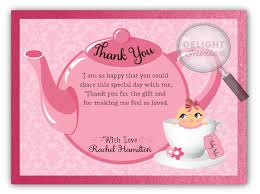 baby shower thank you cards pink girl baby shower thank you cards di 4501ty harrison