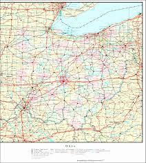 map of united states showing states and cities map of ohio and kentucky with cities map of tennessee highways