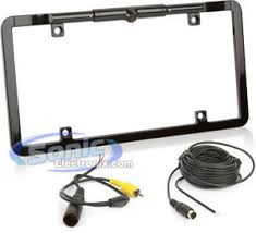 boyo vision vtl375 metal license plate frame with slim built in