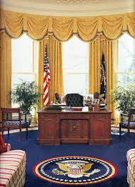 oval office curtains each president can refresh and redecorate the oval office when he