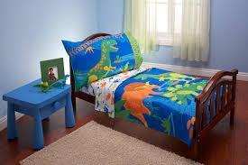 Dinosaur Double Duvet Amazon Com Everything Kids 4 Piece Toddler Bedding Set