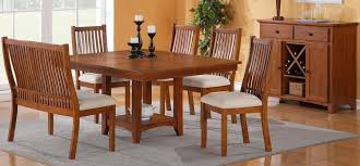 mission style dining room set mission style dining room set etcet