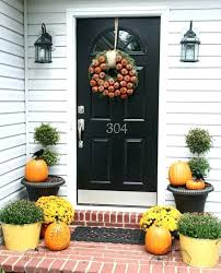 Cool Thanksgiving Front Door Decoration Best Fall Door Decorations