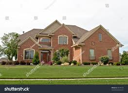 Brick House by Modern Brick House Stock Photo 35774158 Shutterstock