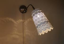 Mexican Sconces Lace Sconce Lamp Stainless Steel Hanging Wall Sconce With An