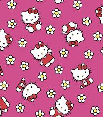 licensed flannel fabric hello kitty flower joann