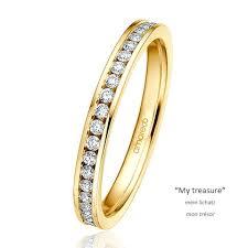 verlobungsring vorsteckring verlobungsring vorsteckring my treasure gelbgold 585 mehrere reihe