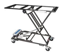 funeral supplies transfer trolley handling coffin height adjustable col001
