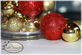 have fun with christmas ornament table decor
