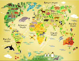 America World Map by Cartoon World Map Royalty Free Cliparts Vectors And Stock