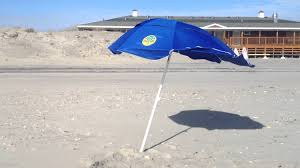 Beach Shade Umbrella Dig Git Beach Umbrella Staying In The Sand In Very High Winds