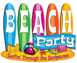 beach party cartoon pictures tidal treasures