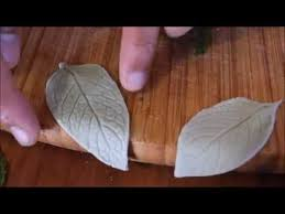how to make edible fondant leaves without using fondant leaf
