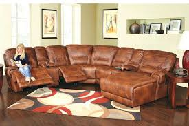 leather sectional recliner costco leather recliner sofa with cup