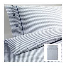 pottery barn vintage ticking stripe duvet cover and sham decor