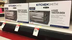 target black friday toaster oven kitchensmith by bella sale 10 off at target as low as 6 41