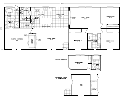 model hi2872c manufactured home floor plan or modular floor plans
